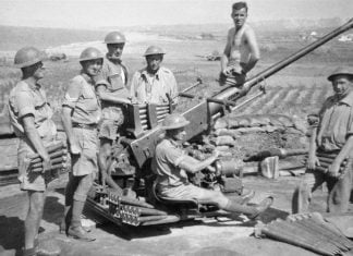 soldiers from Australia in the battle of Crete
