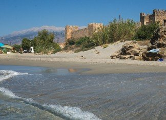 frangocastello in south crete